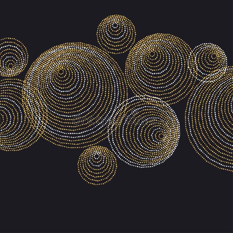 Lijn en ontwerp van de de meetkundeoppervlakte van het puntconcept het minimalistic vector illustratie