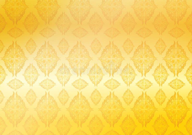 Lijn Thais-1 royalty-vrije illustratie