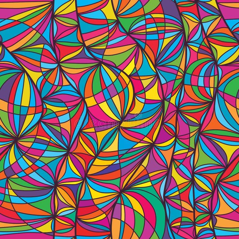 Lijn zwanger naadloos patroon vector illustratie