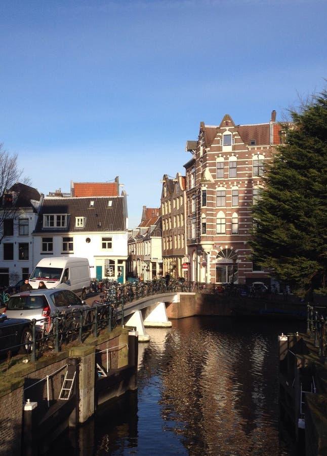 Lijnbaansgracht Wetering Amsterdam stock photography
