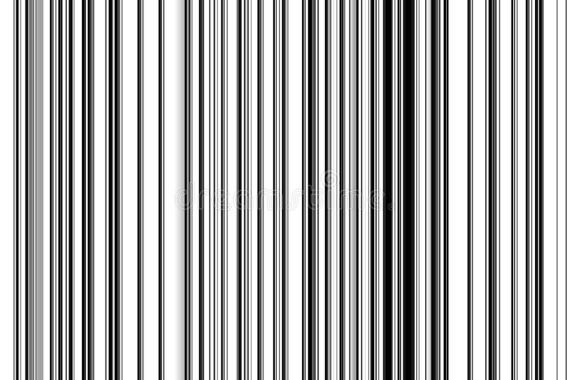 Lijnen, abstracte achtergrond in witte zwarte tinten royalty-vrije illustratie