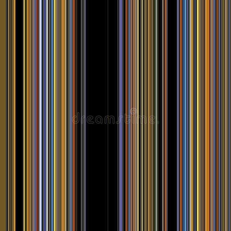 Lijnen Achtergrond in gouden tinten op donkere achtergrond vector illustratie