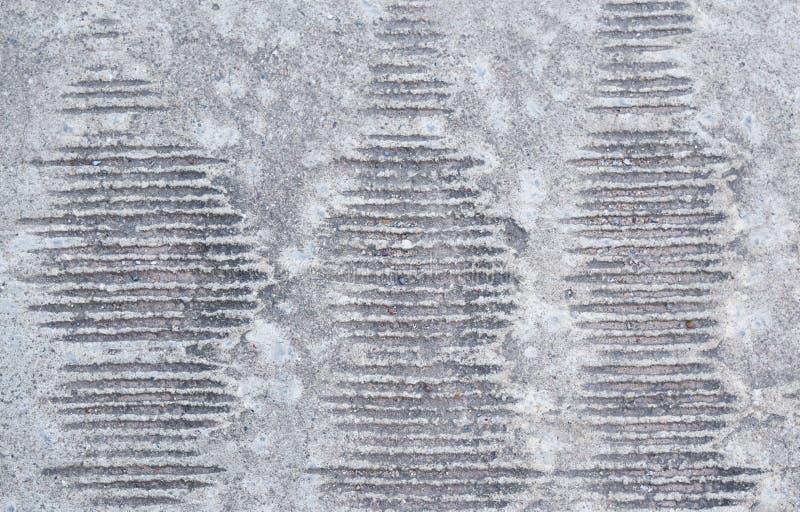 Lijnen van concrete achtergrond op de vloer stock foto