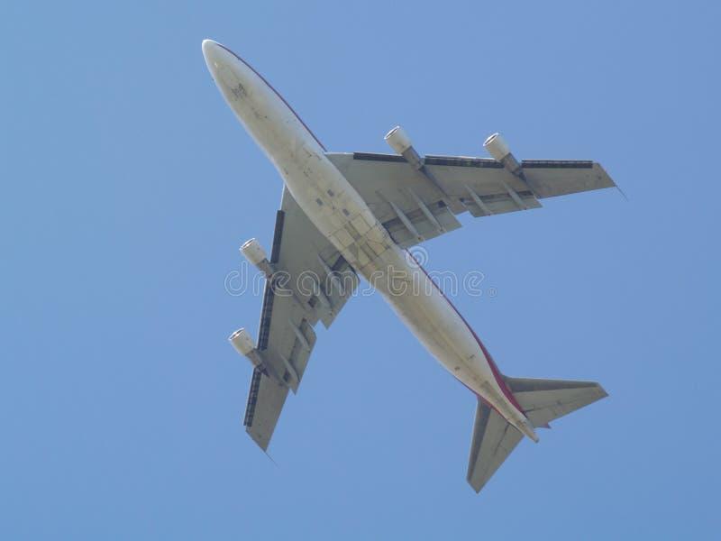 Lijnvliegtuig stock afbeelding