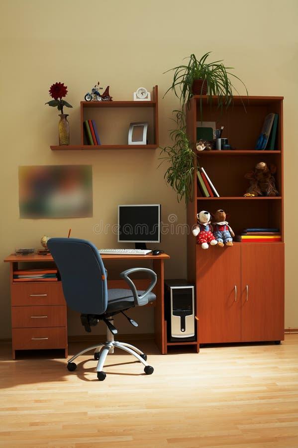 Lijst met een computer stock foto