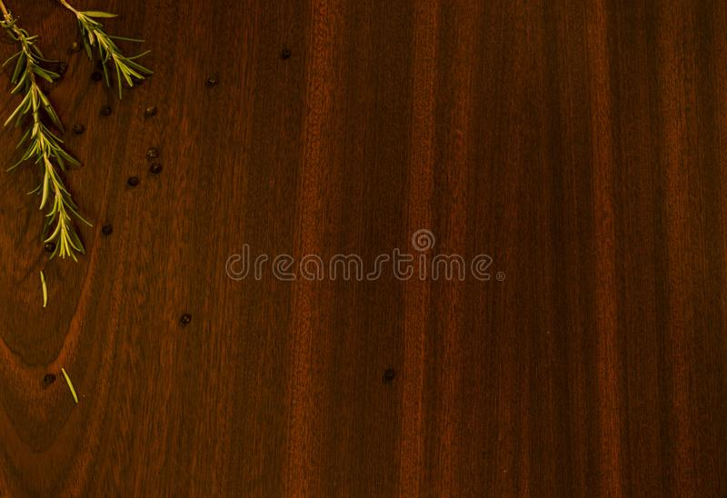 Lijst met groene specerij royalty-vrije stock foto's