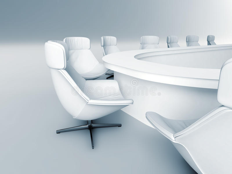 Lijst met stoelen royalty-vrije stock foto's