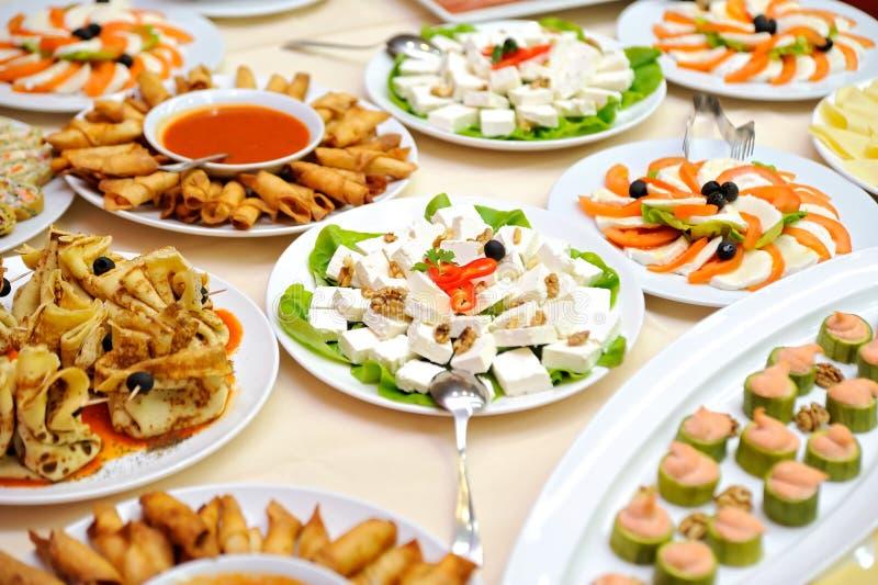 Lijst met voedsel royalty-vrije stock afbeeldingen
