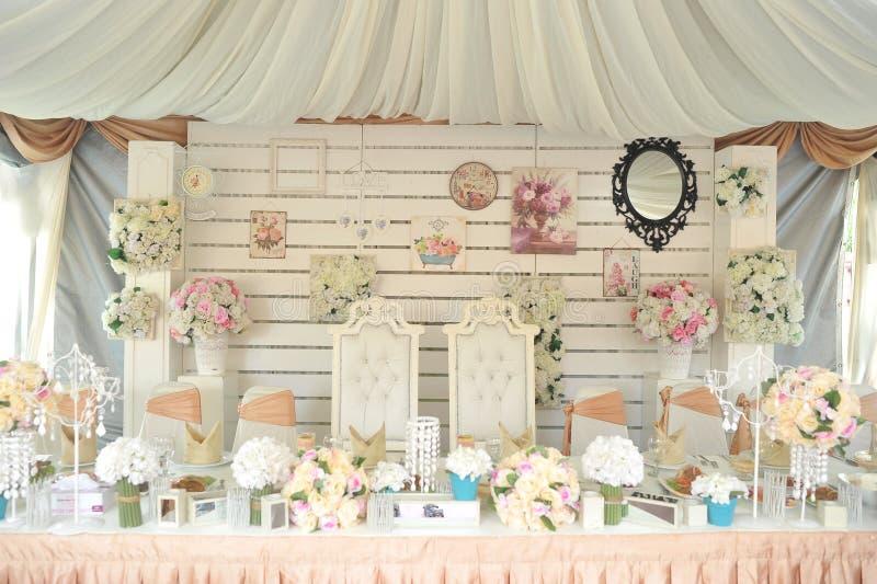 Lijstdecoratie voor huwelijksparen stock afbeelding