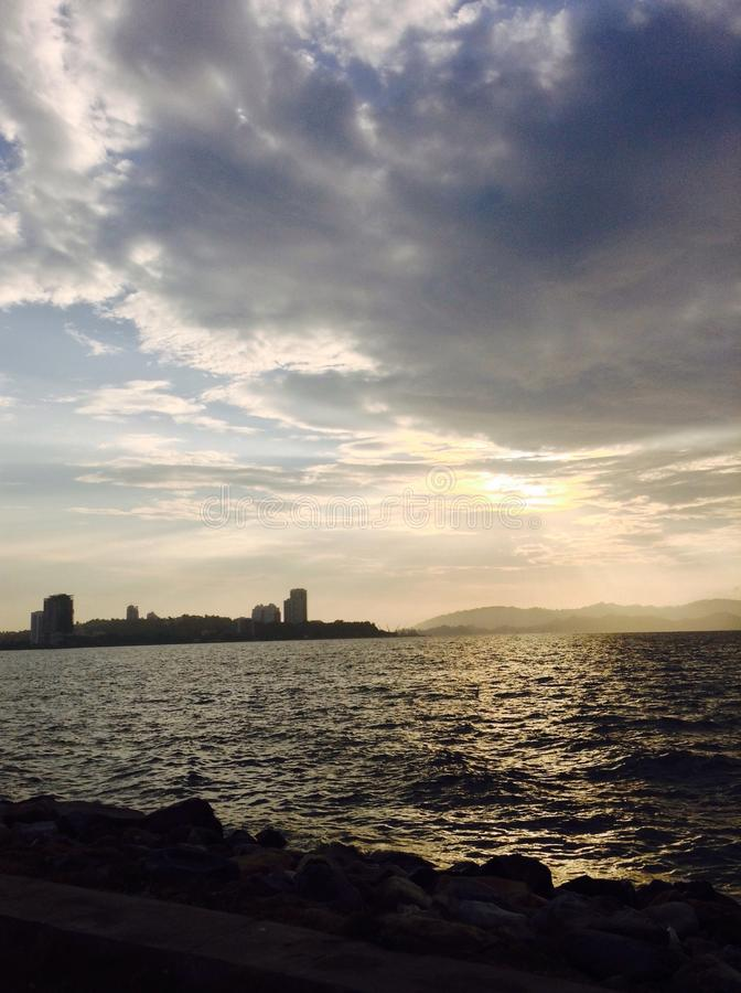 Likas de Teluk foto de archivo