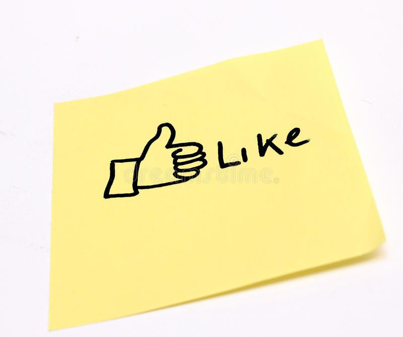 Download Like stock illustration. Image of notice, network, appreciation - 26507913