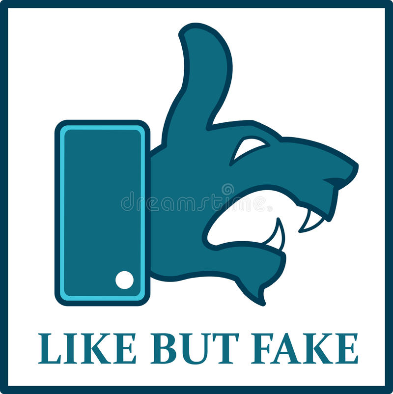 Free Like But Fake Stock Images - 96993824