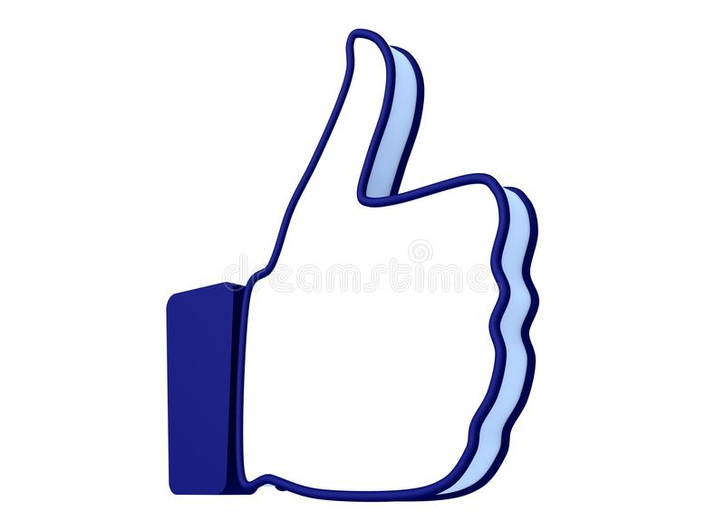 Like hand icon stock illustration