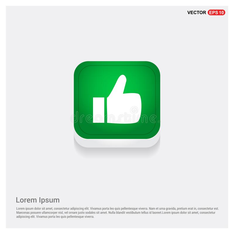 LIKE icon stock illustration