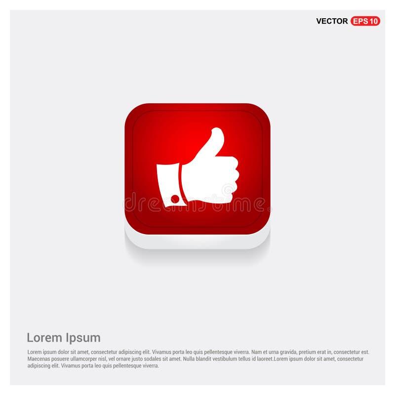 LIKE icon vector illustration