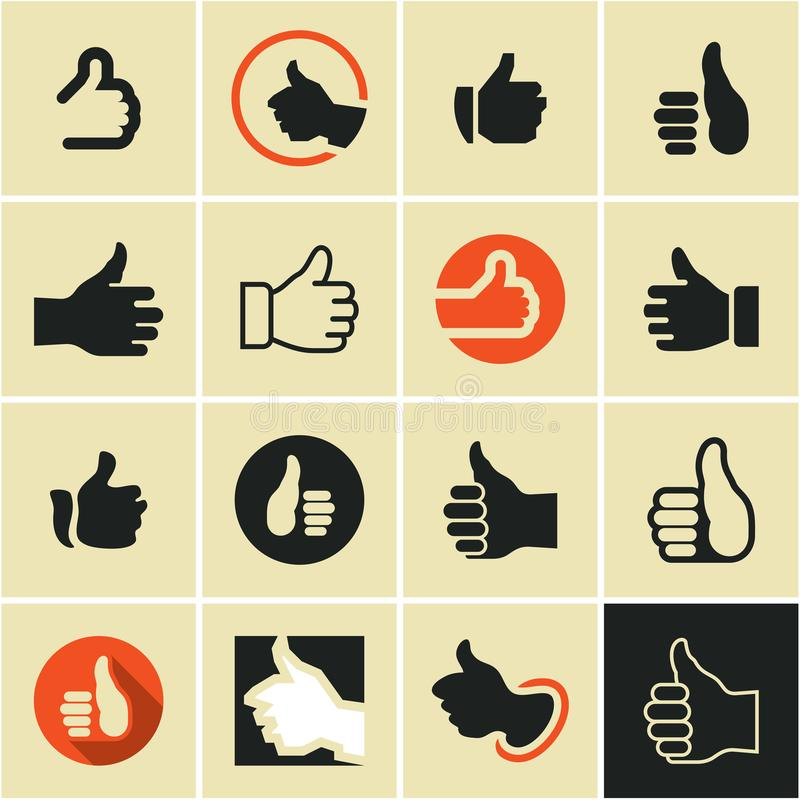 Like. Like button. Like icon. like logo. royalty free illustration
