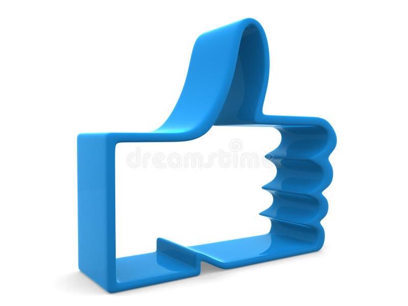 Download Like symbol stock illustration. Image of blog, network - 24050194