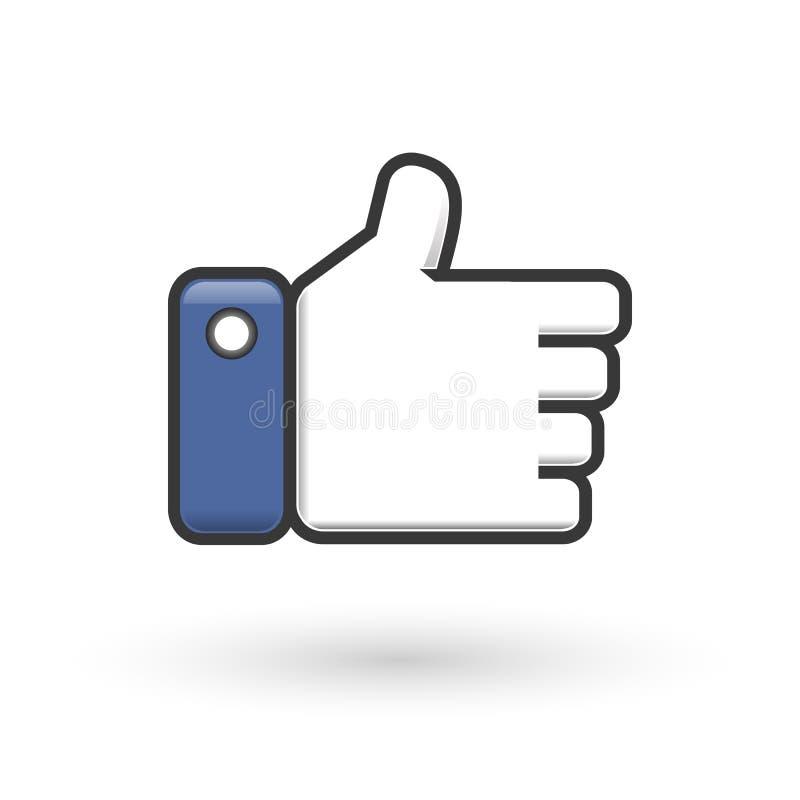 Like symbol stock illustration