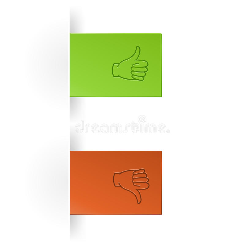 Like And Unlike Icon Royalty Free Stock Images