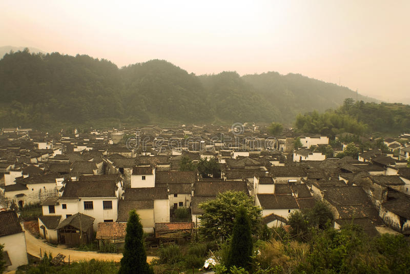 Likeng village, China, landscape view royalty free stock photography