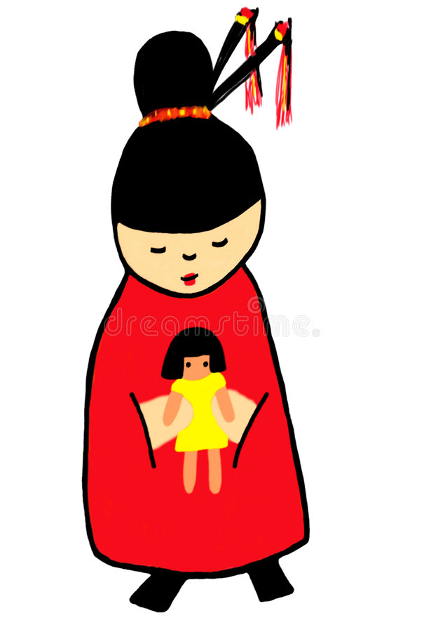 Download Lil Geisha Royalty Free Stock Photography - Image: 9016177