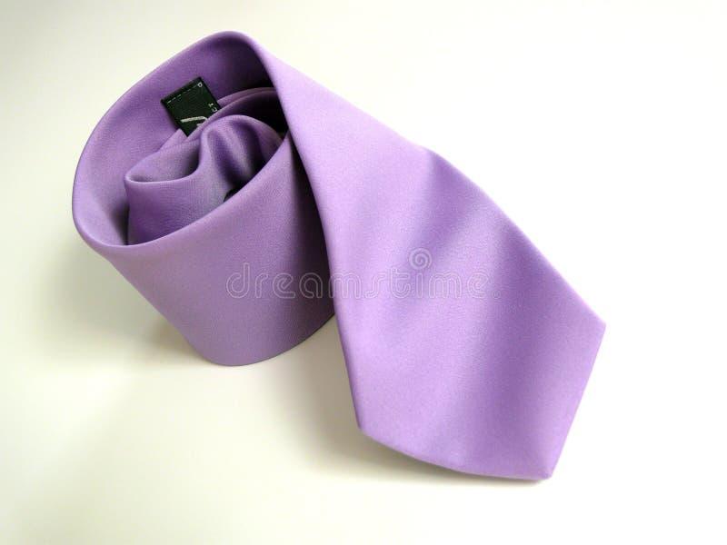 Lila Tie Stock Photo