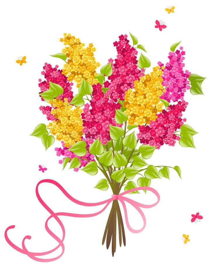 Lilac. ilustração royalty free