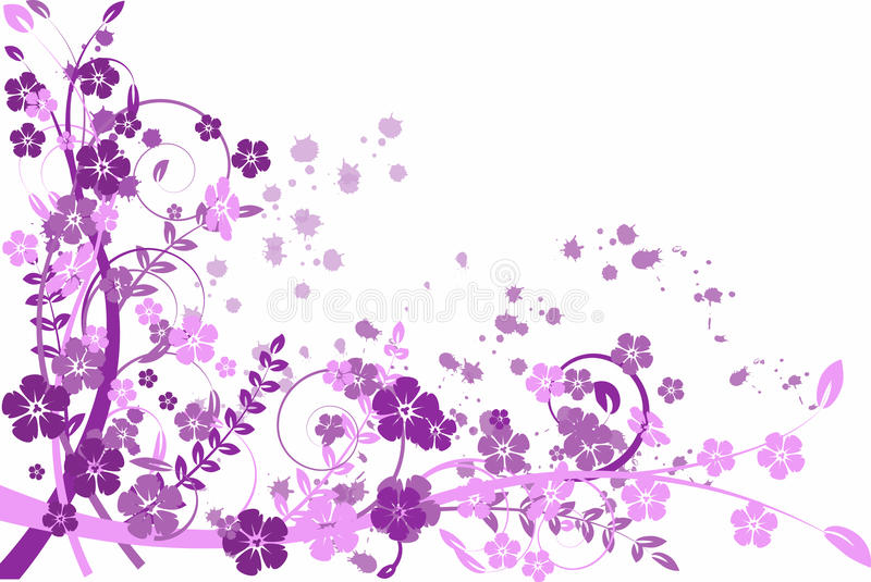 Download Lilac abstraction, pattern stock vector. Illustration of flowers - 12654471