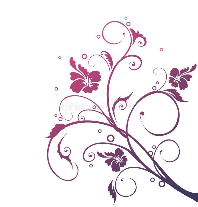 Lilac abstrato ilustração stock