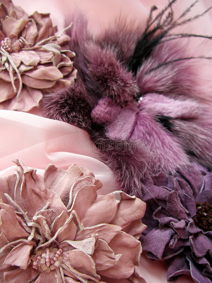 Free Lilac Accessories Royalty Free Stock Photography - 1596397