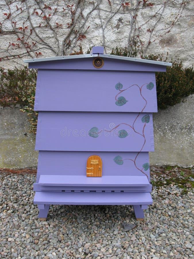 Lilac Bijenkorf royalty-vrije stock afbeelding