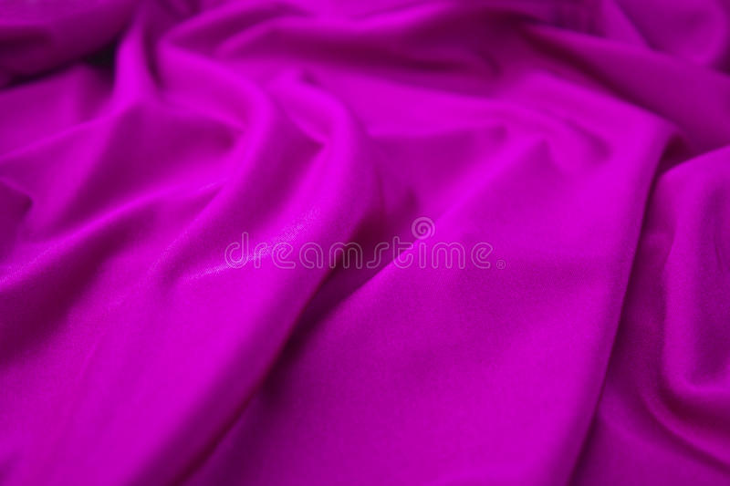 Lilac Fabric Stock Photography
