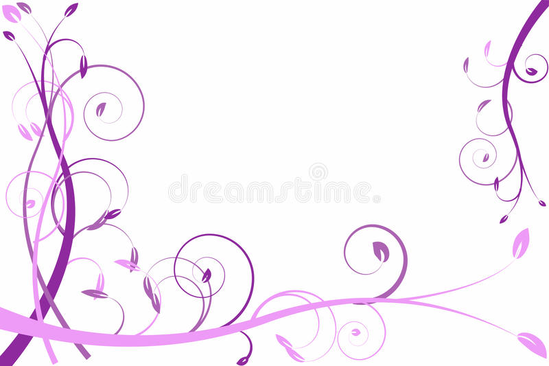 Download Lilac Flower Abstraction, Pattern Stock Vector - Image: 12654475