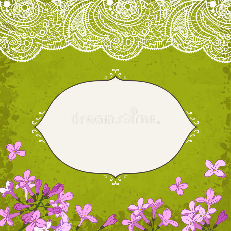 Lilac&lace libre illustration