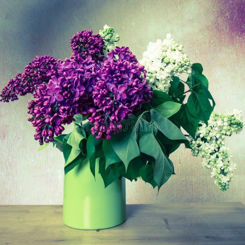 Lilac no vaso fotos de stock royalty free