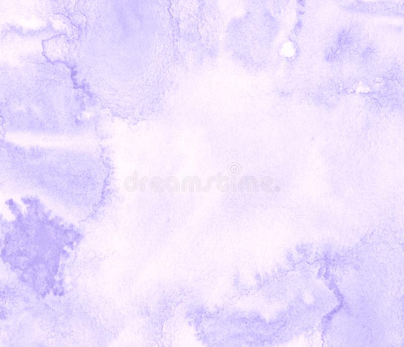 Lilac pastel watercolor frame with torn strokes and stripes. Abstract background for design. Layouts and patterns vector illustration