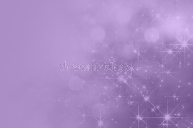 Lilac Purpere Ster Fade Background stock foto