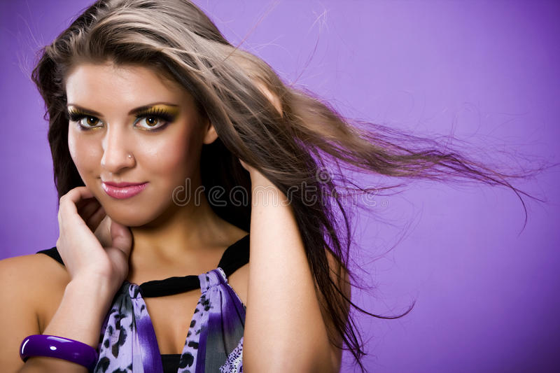 Lilac symphony royalty free stock images