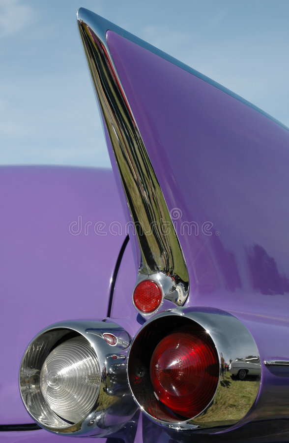Lilac tail fin stock photography