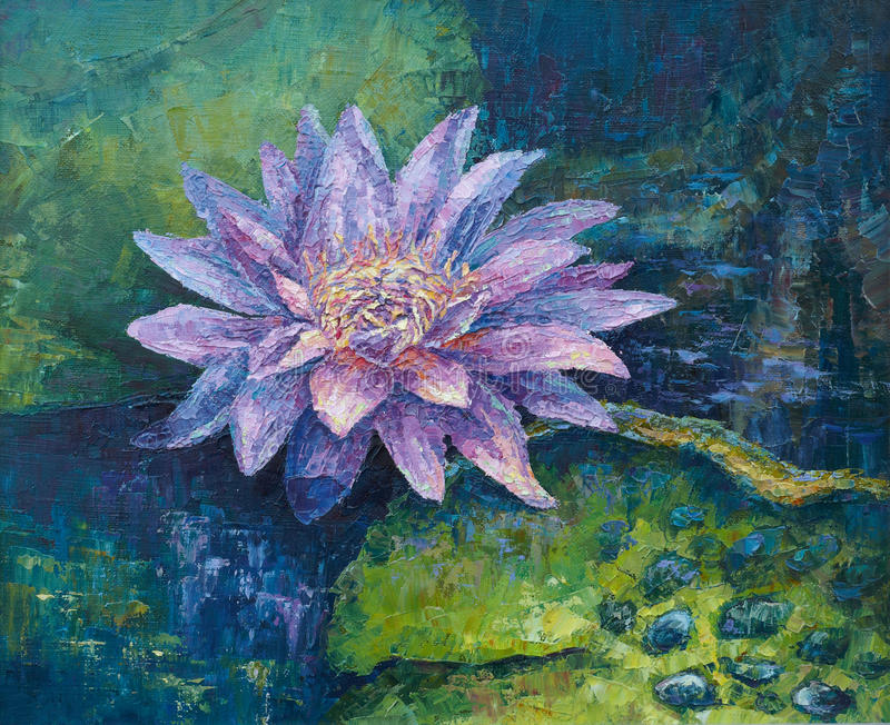 Lilac water-lily