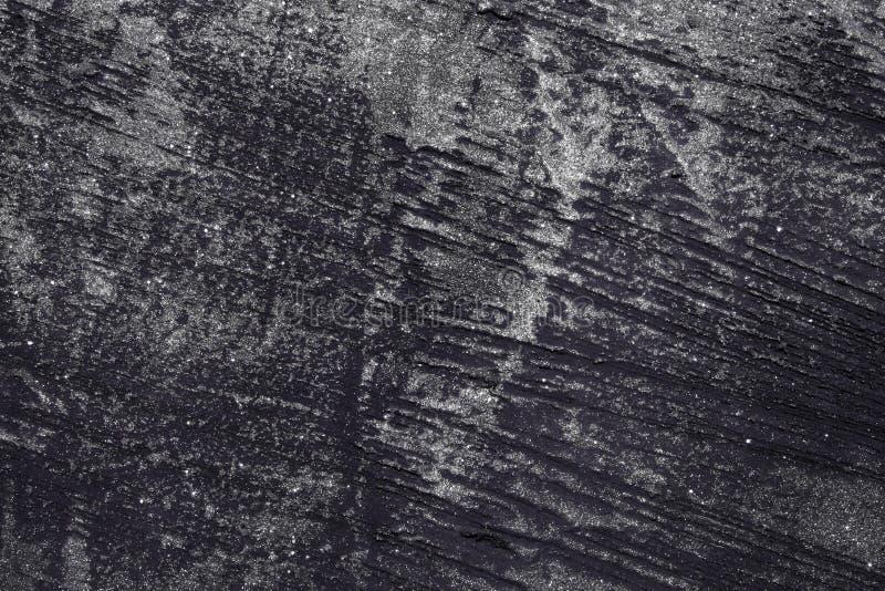 Lilagrunge skrapade målarfärgplankatextur - underbar abstrakt fotobakgrund arkivfoto