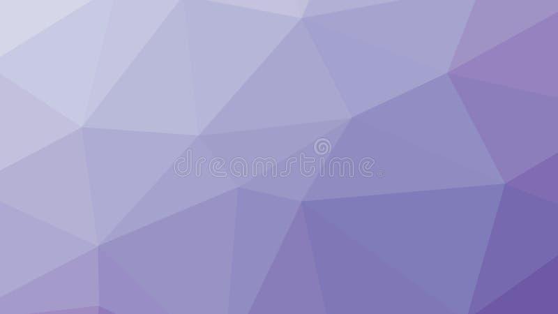 lillà Violet Background del poligono del triangolo dell'estratto 8K royalty illustrazione gratis
