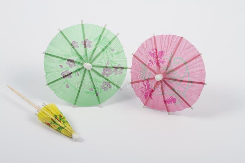 Lilla paraplyer arkivbilder