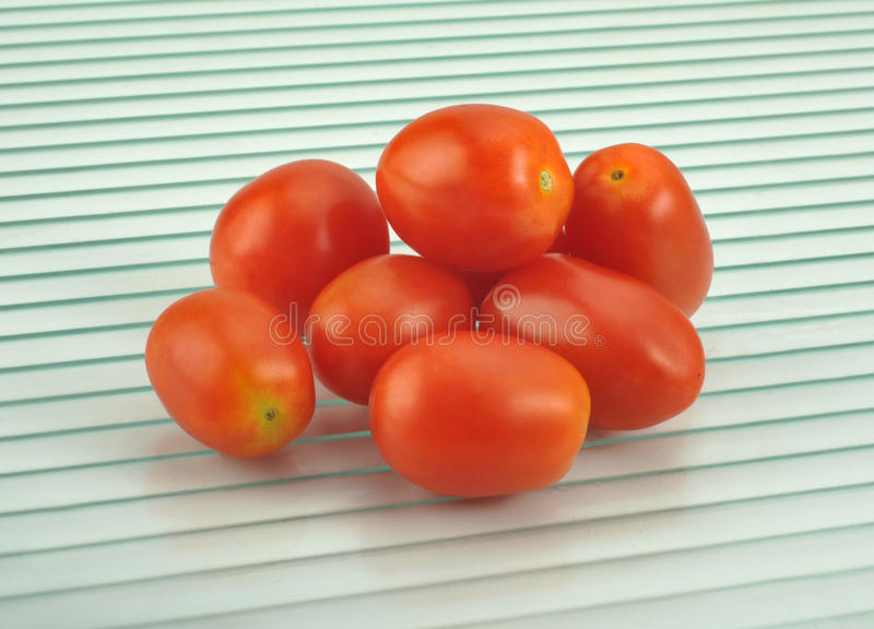 lilla tomater royaltyfri fotografi