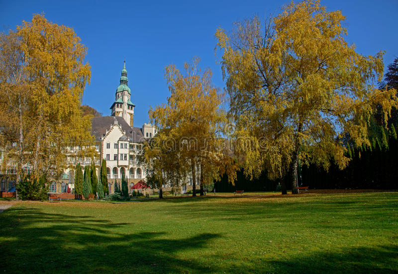 Lillafured pałac, Węgry obraz royalty free