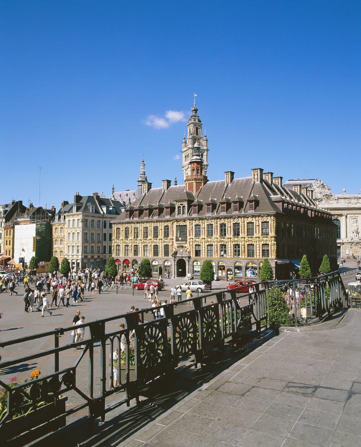 Lille, Fiandre Francia fotografia stock libera da diritti