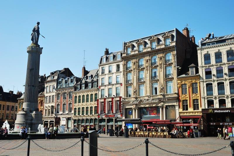 Lille, Francja obraz stock