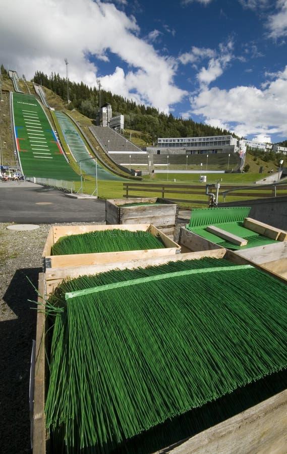 Lillehammer photographie stock libre de droits