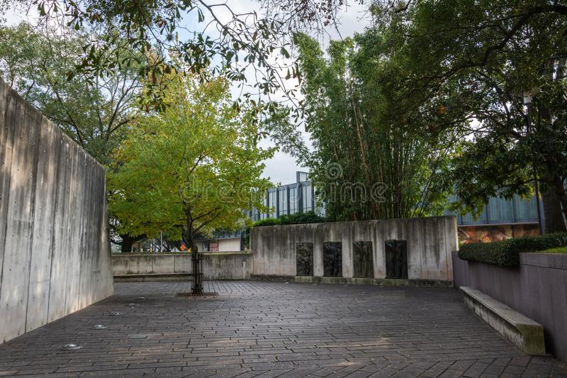 Houston museum of fine arts editorial photography image - Lillie and hugh roy cullen sculpture garden ...