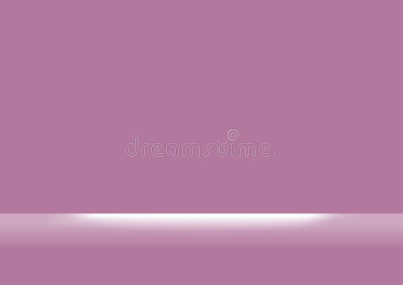 Lilor eller rosa pastellfärgat vit ljust sken för mjuka färger och för bakgrund, plan tapet för purpurfärgade rosa pastellf royaltyfri illustrationer
